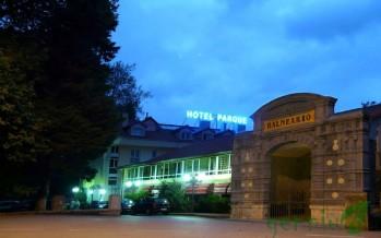 El conjunto del Hotel-Balneario de Alceda