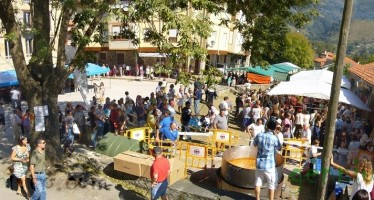 Mercado de otoño y productos artesanos 2011 en Ontaneda