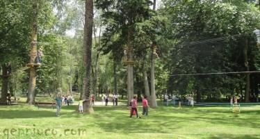 Inauguración de Alceda Aventura en el Parque de Alceda