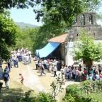 Hermita de Santa Isabel en Sel del Tojo, fiesta de la Boñiguera