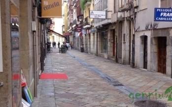Calle El Arrabal, convivencia entre modernidad y antigüedad.