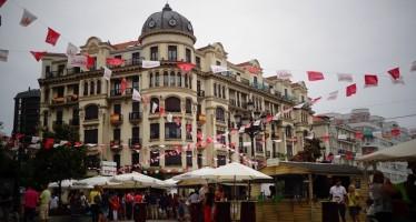 Feria de día en las fiestas de Santiago 2013