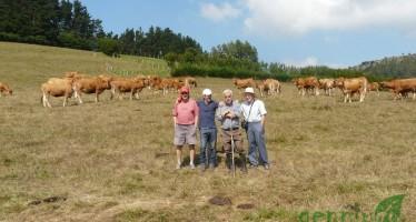Una Vaquería moderna en Esponzues