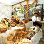 Mercado medieval en el Parque de Alceda