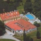VIsta aerea del Hotel y Balneario de Alceda