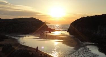 La playa de la Virgen del Mar, una joya de Cantabria