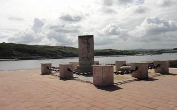 La desembocadura del rio Saja Besaya
