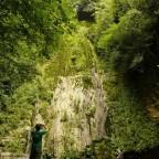 El salto del agua del Churrón en Borleña